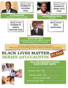 Black Lives Matter @flccaustin
