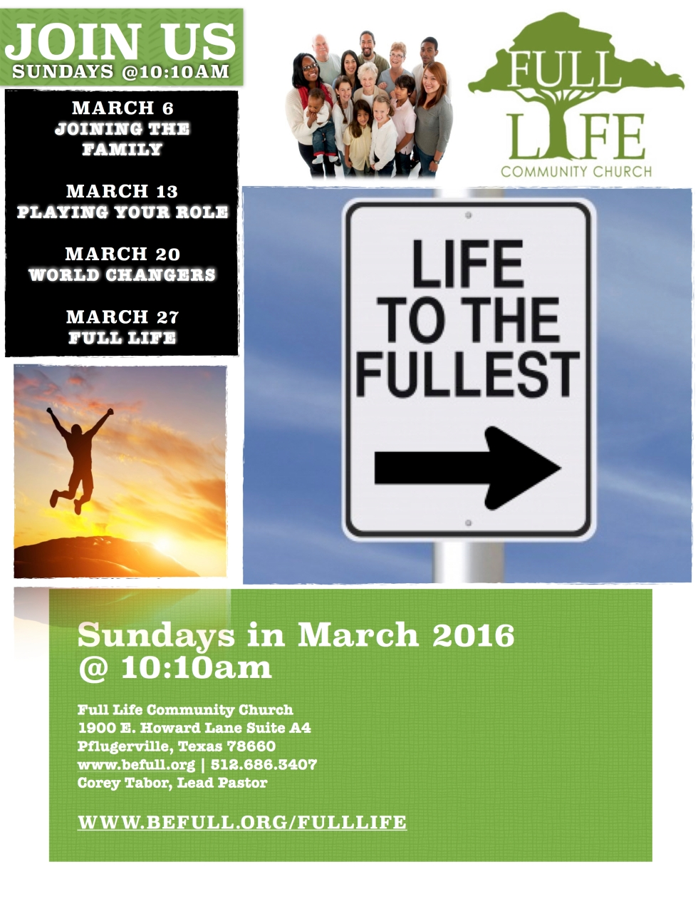Living Life to the Fullest Poster